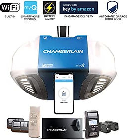 Chamberlain Smartphone Gargae Door Controll System  Ultra Quiet and Strong