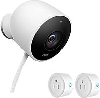 NEST Cam Outdoor Security Camera_with 2