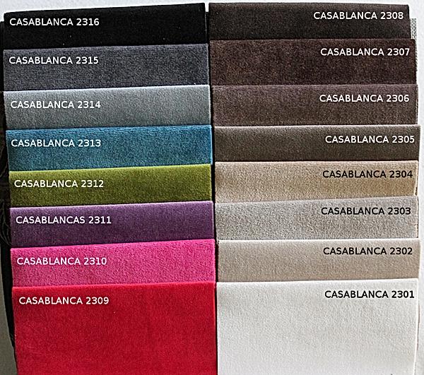 próbnik tkanin Casablanca