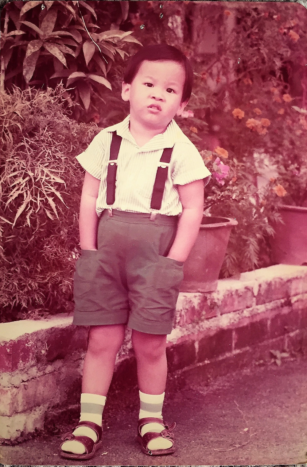 Elliot Ng when he was young