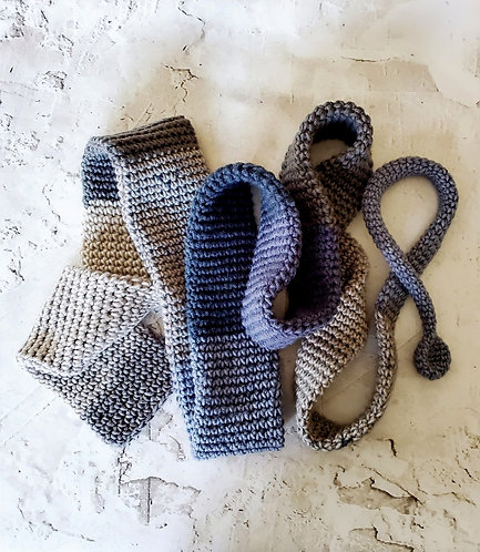 80 iNcH aSsYmeTriCaL sCaRf:  bLuE/gRaY