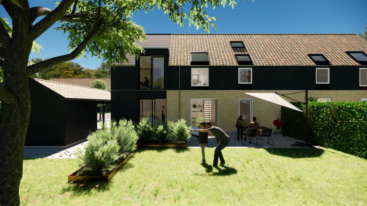 Tilbygning til 2-plans dobbelthus