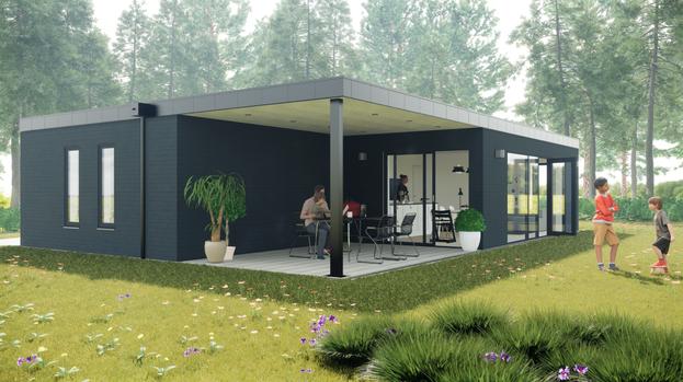 Nybygget sommerhus