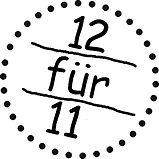 Aktion 12 für 11