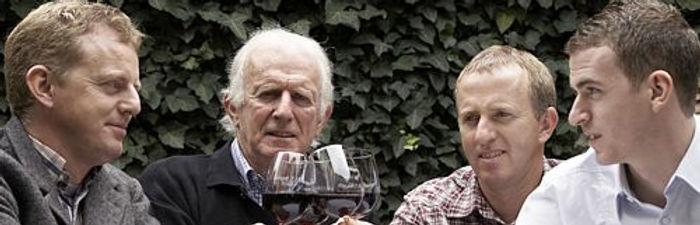 Die Ellwangers vom Weingut Jürgen Ellwanger aus Winterbach in Württemberg