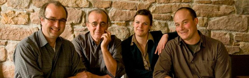 Die Winzerfamilie Knipser aus Laumersheim im der Pfalz