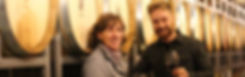 Barbara & Julian Huber bom Weingut Berhard Huber aus Malterdingen badischen Breisgau