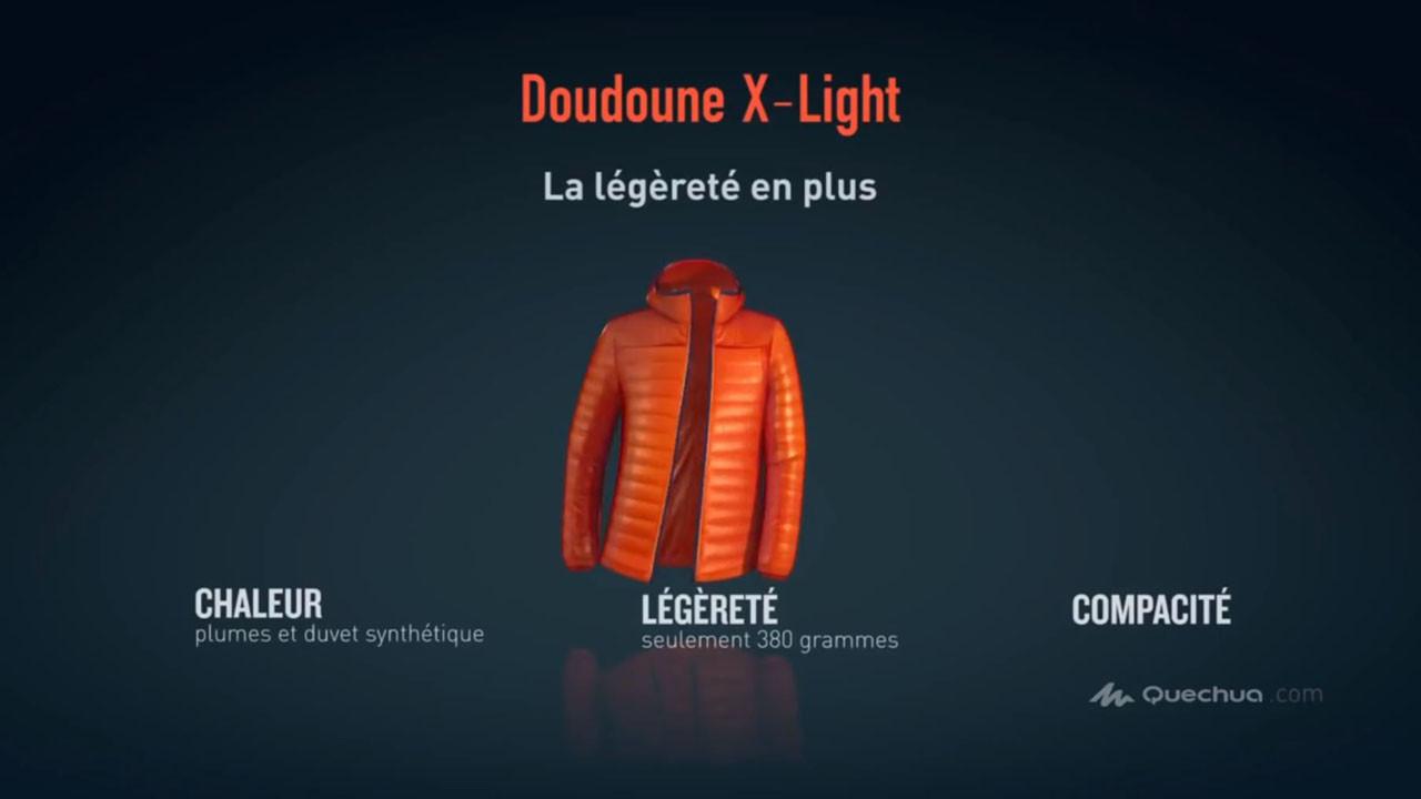 Quechua - Doudoune X-Light