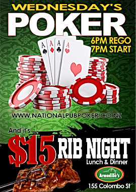 Armadillos Poker