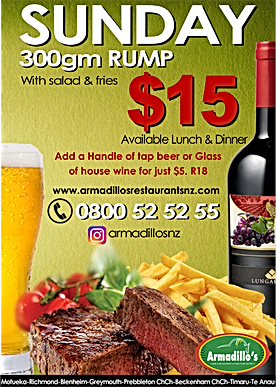$15 Steak Night