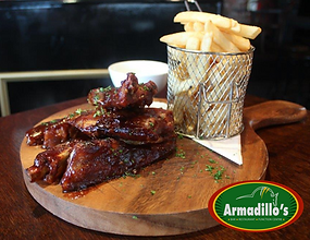 Try our signature dish _Ribs_