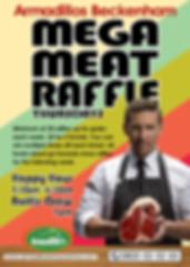 Armadillos Mega Meat Raffle