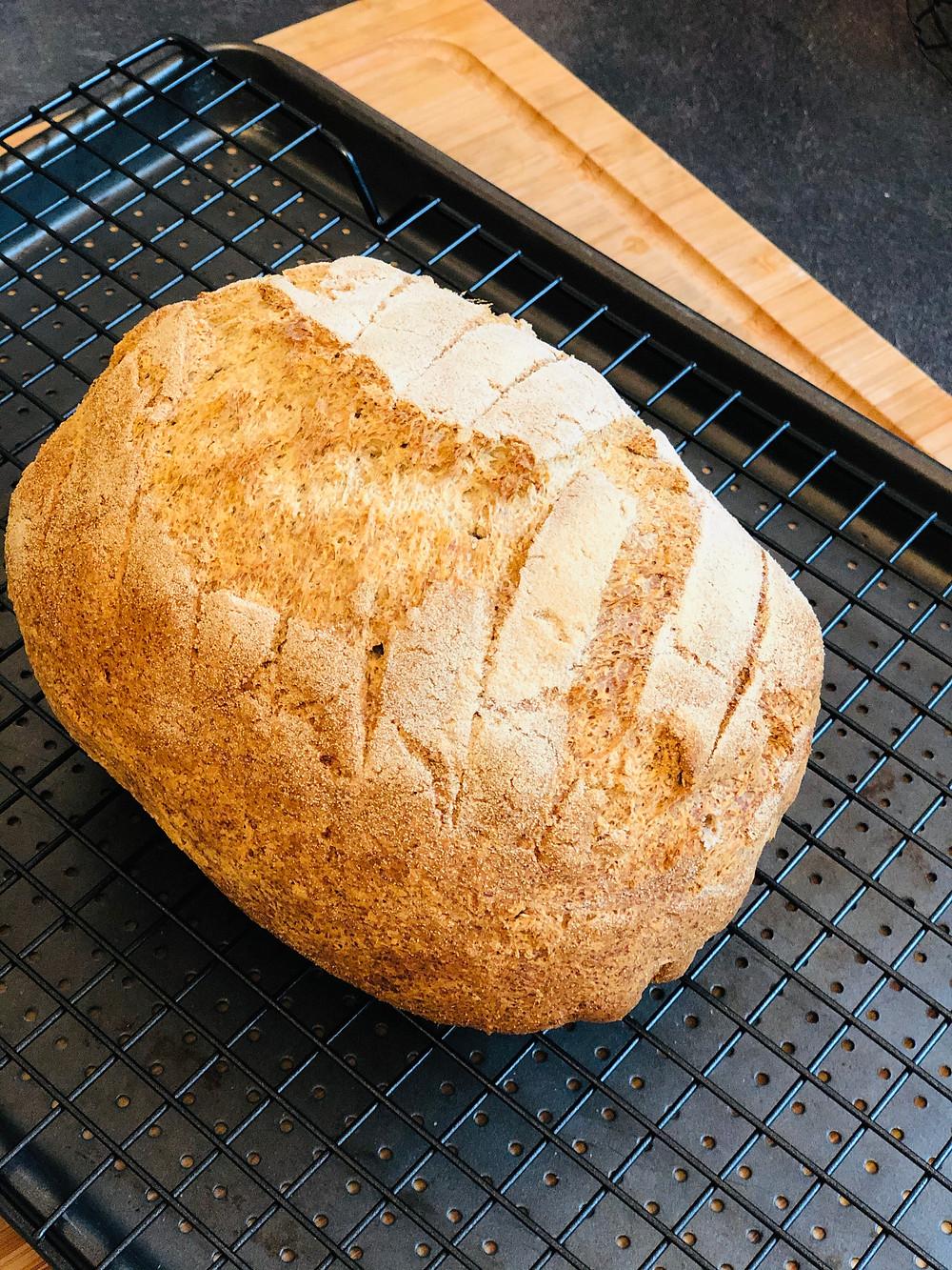 Rustikales Sauerteig-Kartoffelbrot (Low Carb & Keto-freundlich)