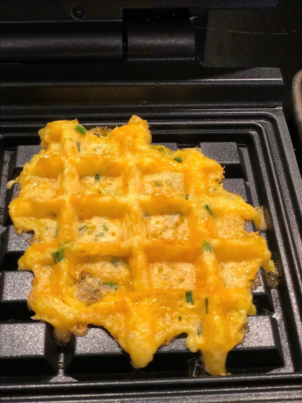 Low Carb & Keto Käse-Waffel