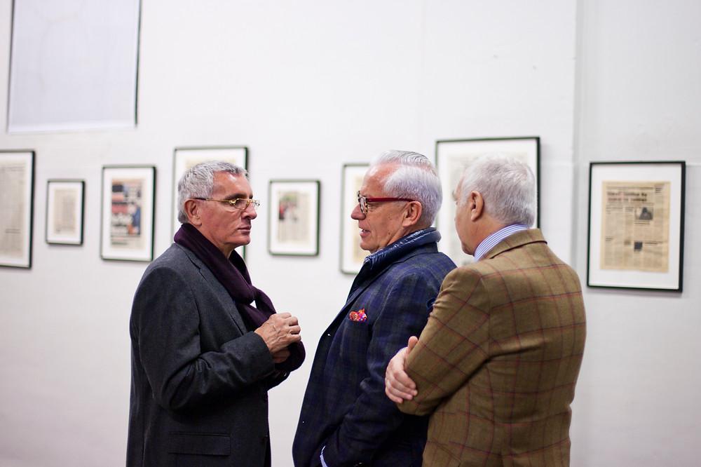Con Esteban Tedesco, Coleccionista argentino.