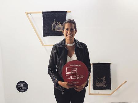 Frances Munar, ganadora 2da Edición Premio Ca.Sa ArtLima.