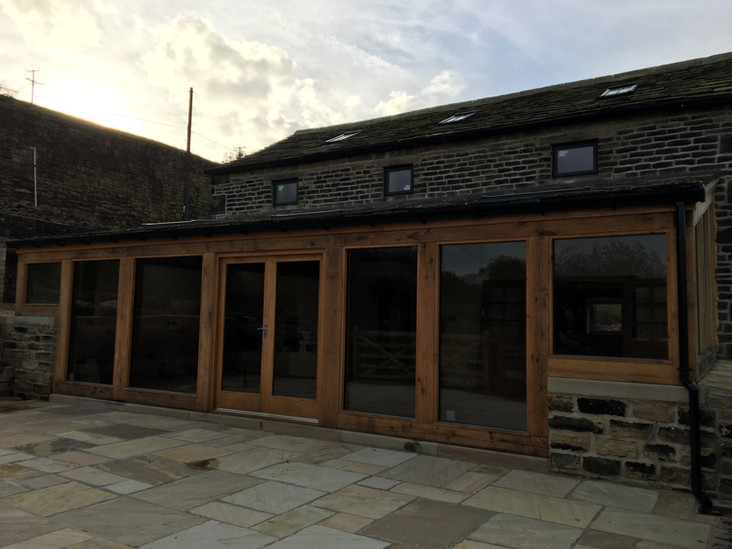 Barn conversion house builder Huddersfield