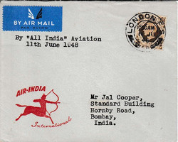 8TH 12TH JUNE 1948 AIR INDIA FFC