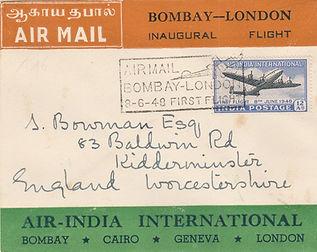 8TH JUNE 1948 AIR INDIA PRIVATE FFC BOMB
