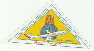 1964 LABEL AIR INDIA POPE.jpg
