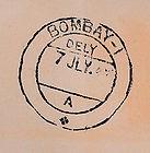 AIR INDIA BOMBAY DUBAI BOMBAY  2ND 5TH J
