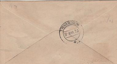 1938 TRICHINOPOLY TRIVANDRUM TATA FFC BA