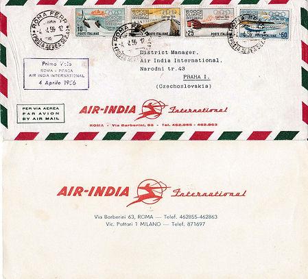AIR INDIA_4TH APRIL 1956 ROME PRAGA_0002