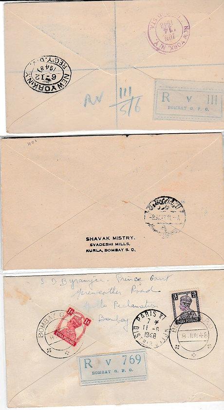 AIR INDIA_8TH JUNE 1948 CAIRO NY PARIS_0