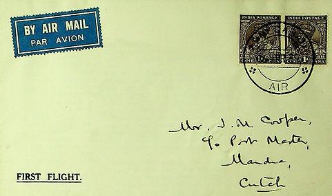 INDIA 1937 FFC AHEMDABAD MANDRA CUTCH.jpg