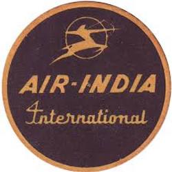 Beer coasters air-india-coasters