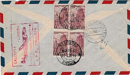 AIR INDIA_17 OCT 1950 CALCUTTA LONDON VO