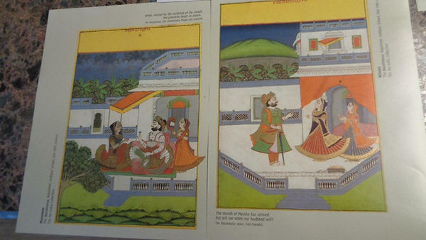 "Air_India_Art_Prints_Set_of_4_10x8""_Bara"