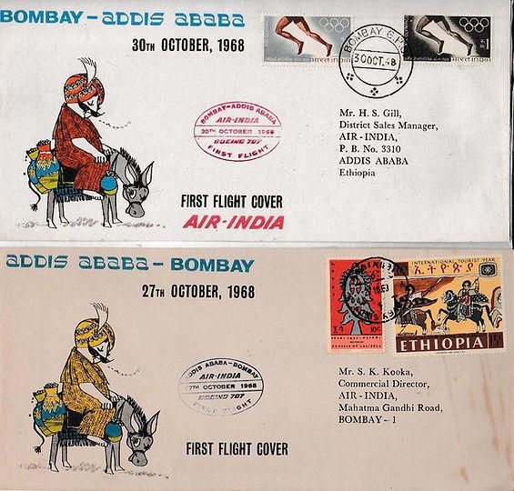 AIR INDIA BOMBAY ADDIS ABABA BOMBAY  ERROR FFC