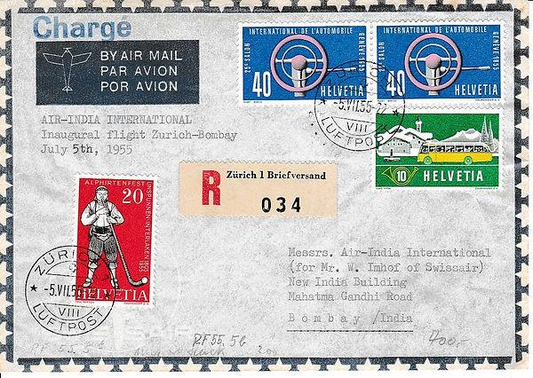 AIR INDIA_7th May 1955 Bombay Tokyo_0008