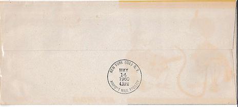 AIR INDIA_14TH MAY 1960 BOMBAY NEW YORK_