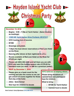HIYC 2016 Dec Christmas Party Flyer