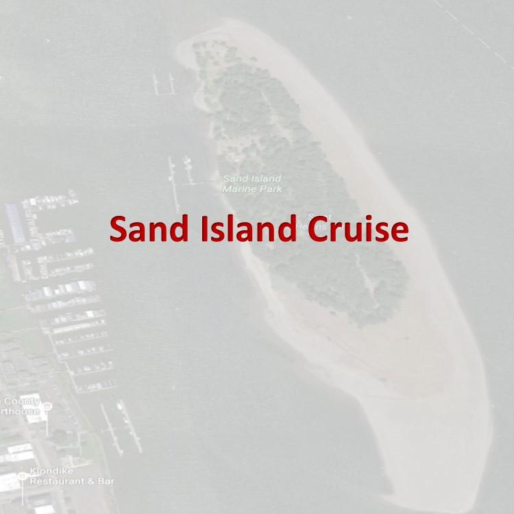 Sand Island St Helens Tile