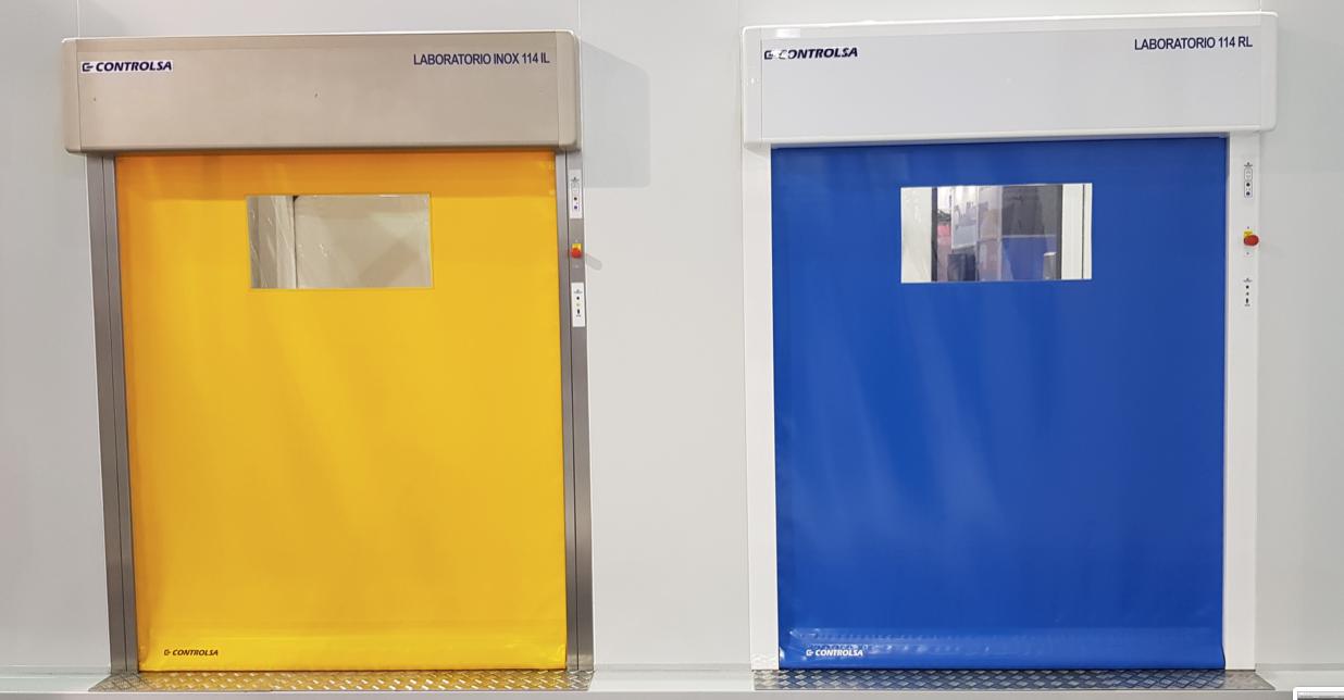 Porte laboratoire