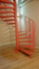 Escalier hélicoidale