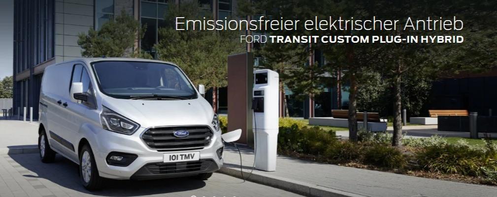 Ford Transit Custom PLUG IN HYBRID