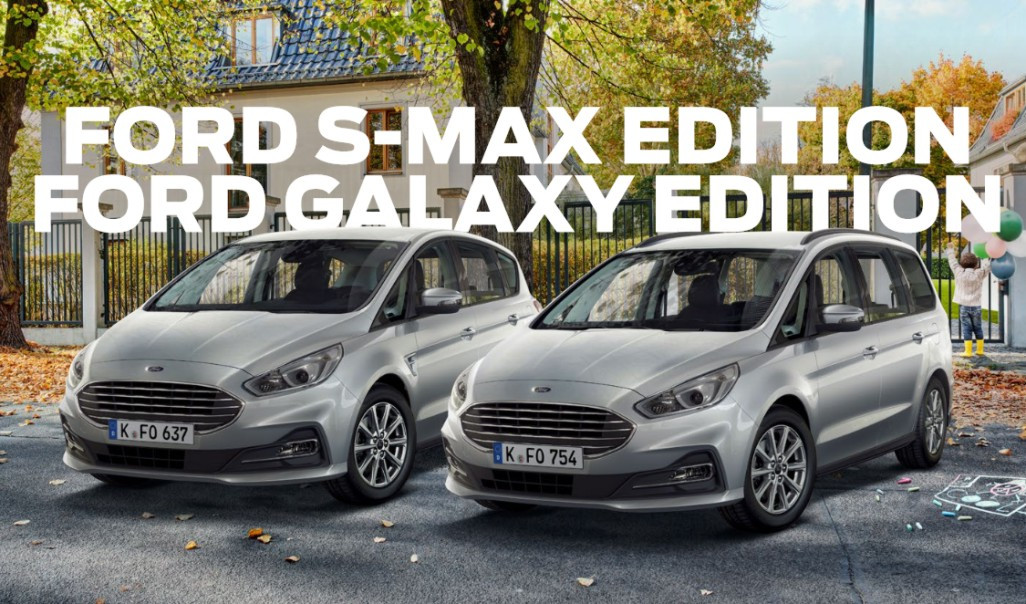 ford s-max edition  ford galaxy edition