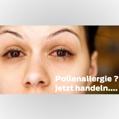 Leiden Sie unter Pollenallergie ?