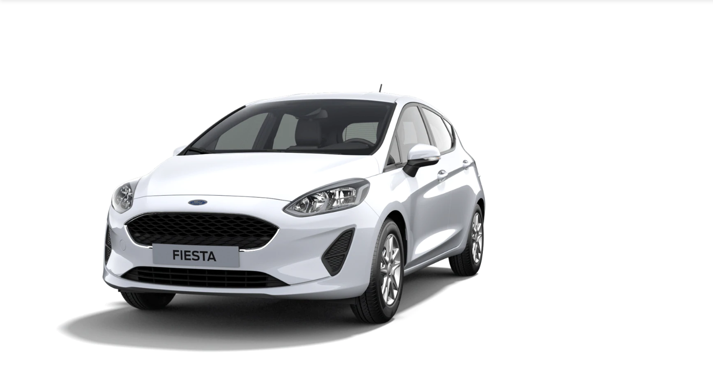 Ford Fiesta Cool&Connect weiss 1