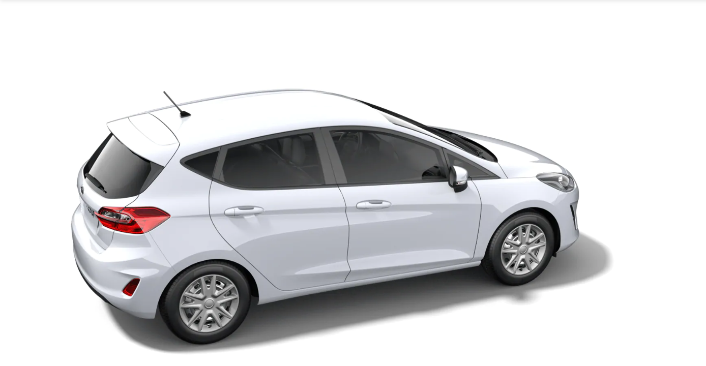 Ford Fiesta Cool&Connect weiss 5
