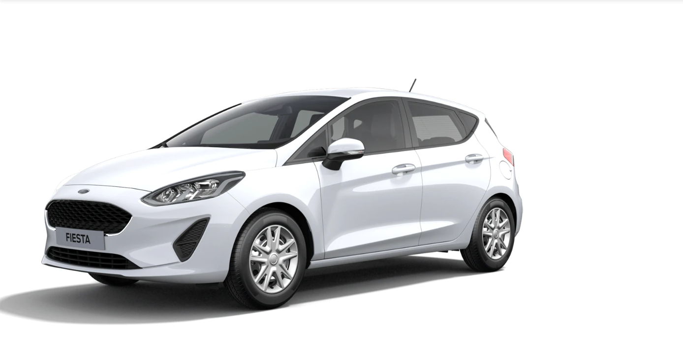 Ford Fiesta Cool&Connect weiss 2