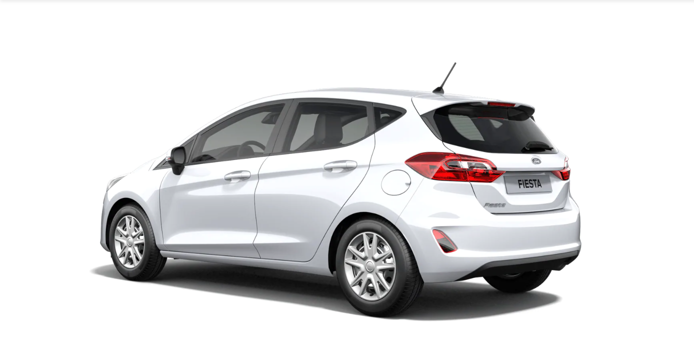 Ford Fiesta Cool&Connect weiss 3