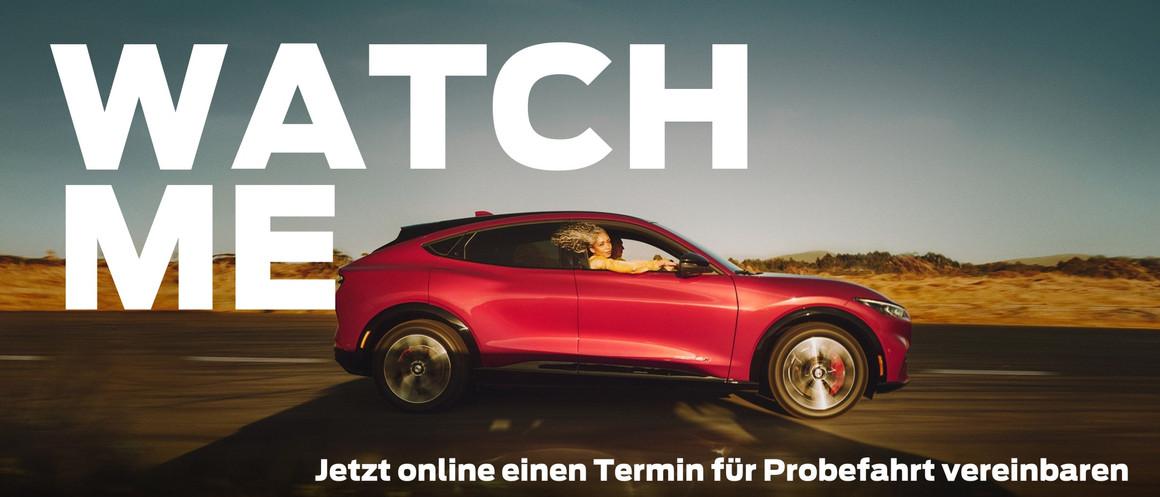Mustang Mach E Probefahrt vereinbaren Ga