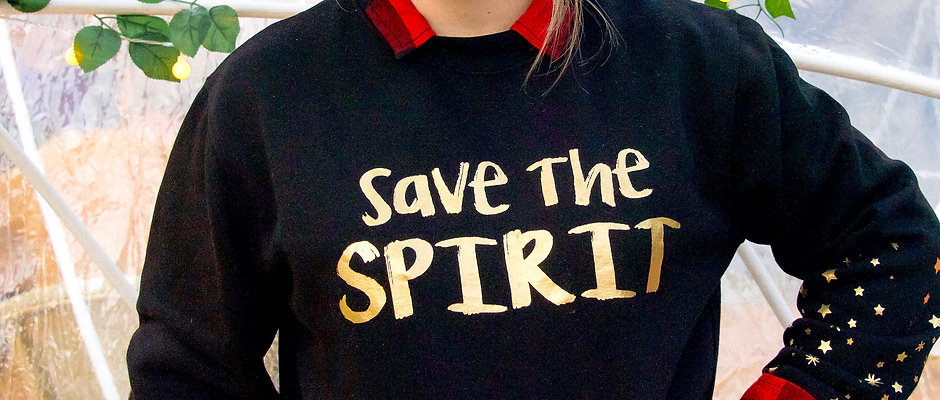 Sudadera Save the Spirit ✨