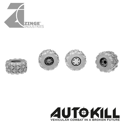 Military Wheels 13mm