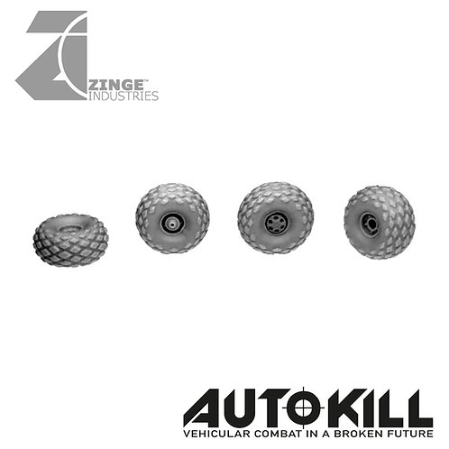 All Terrain Wheels 13mm